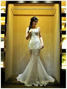 Zoe - Bridal Dress Wedding Gown Marriage Matrimony Wedlock $550 via @Shopseen