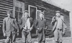 vintage everyday: Rare Photos of Jesse James' Life - The Most Famous Member of the James-Younger Gang- Jesse is second from left.