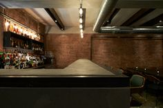 Rustic concrete bar top