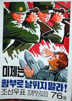 korean+propaganda | North Korean Propaganda Posters | Flickr - Photo Sharing!