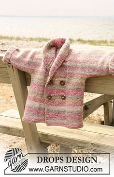 Ravelry: b20-11 Double breasted jacket with shawl collar pattern by DROPS design