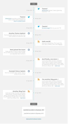 WordPress Ultimate Timeline is a new plugin which enables you to build visually attractive timelines for your WordPress site.  #wordpress #wordpressplugin