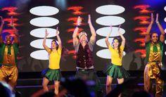 Netinho no palco em seu show em dezembro de 2012 no Reveillon da TV Record em Pompano Beach/FL, Estados Unidos.