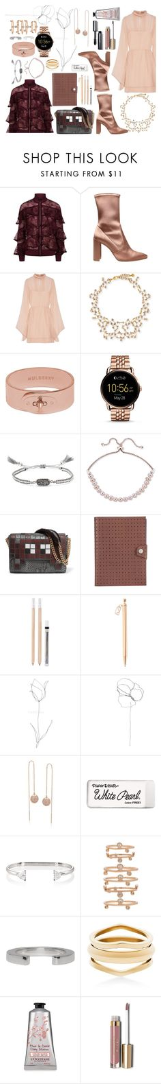 """Untitled #869"" by adda21 ❤ liked on Polyvore featuring Elie Saab, Stuart Weitzman, Emilio Pucci, Lulu Frost, Mulberry, FOSSIL, Chan Luu, Giani Bernini, Anya Hindmarch and Marni"
