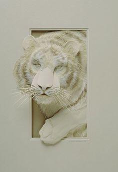 Impresionantes esculturas tridimensionales hechas con papel que te dejarán con la boca abierta - Para Los Curiosos