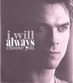 Never let me go- The Vampire Diaries