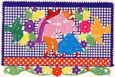 グリーティングカード「がいこつのカップル」中南米と世界の手作り・輸入・蚤の市雑貨リャマリャマ