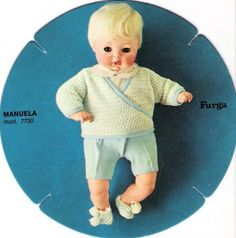 Manuela Furga bionda catalogo dolly do 1970
