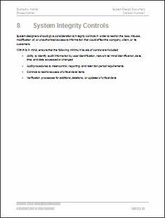 Design document template jessie pas project pinterest software design document template wajeb Images