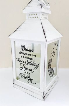 Wedding remembrance gift remembering a loved one at a wedding. Available in black, white or grey