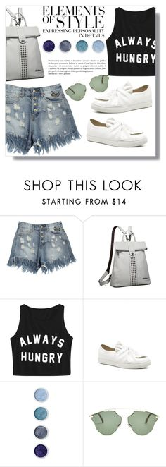 """""""xo xo"""" by fashion-pol ❤ liked on Polyvore featuring Vera Wang, Terre Mère and Christian Dior"""
