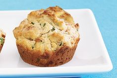 Spinach and Bacon Muffins