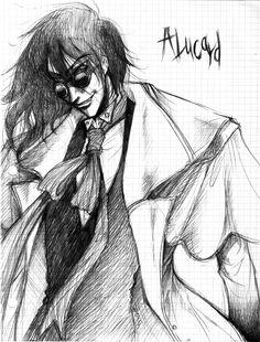 Alucard by on DeviantArt Manga Anime, Anime Art, Hellsing Alucard, Dracula, Horror, Digital Art, Fan Art, Deviantart, Random
