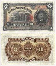 10 escudos, 1927
