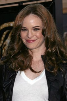 Danielle Panabakers long curly hairstyle
