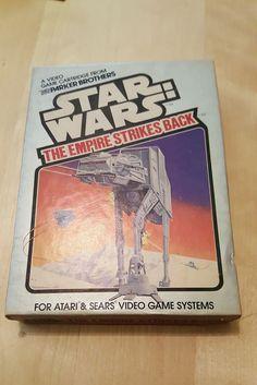 Star Wars The Empire Strikes Back Parker Bros Atari 2600 COMPLETE w/ box