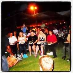 our Drum Circle! - Drumming and Dining at moyo Fountains Pretoria