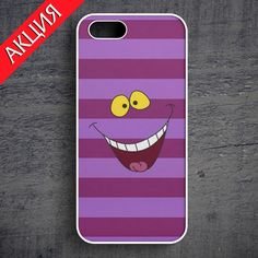 """Cheshire Cat #2"" Case for iPhone 4/4S, 5/5S, 6. Worldwide shipping. Store's url http://vk.com/market-71763847"