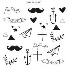 138 Mejores Imagenes De Tatuajes Temporales En 2019 Tiny Tattoo