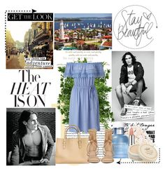 """Uruguay"" by bokilly91 ❤ liked on Polyvore featuring Kate Spade, Jona, Stila…"