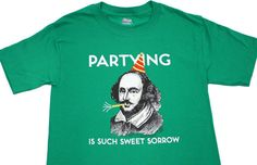 This earnest interpretation of Willy S. | 23 T-Shirts Only Book Nerds Will Appreciate