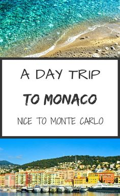A day trip to Monaco, from Nice to Monte Carlo. Have you been to this small country? Did you explore the famous casino? If you're looking for information on how to get to Monaco or details regarding the Oceanographic Museum, this post is for! It's not all about the rich and the famous here! www.girloutofbounds.com: