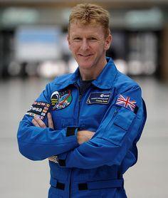 Tim Peake - first British astronaut on the ISS - go Tim!