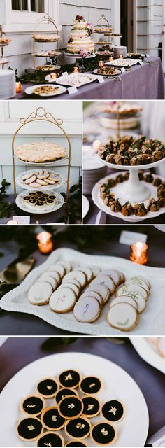 Dessert table with cookies, tarts, pie, and mini bundt cakes | Image by Suzuran Photography