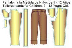 moldes de pantalon de vestir Diy, Shirtdress, Dress Pants, Girls Dresses, Shirt Patterns, Sewing Patterns, Toddler Cowl, Bricolage, Do It Yourself