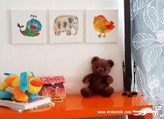 Pintura infantil em tela passo a passo
