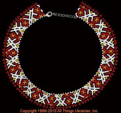 AllThingsUkrainian.com gherdany Bead Jewelry  # GIN15139