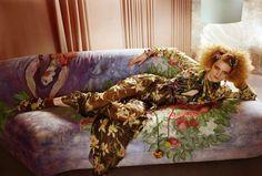 """L'Air Du Temps"" : Guinevere Van Seenus : Vogue UK April 2011 : Javier Vallhonrat Vogue Uk, Gray Gardens, Guinevere Van Seenus, Red To Blonde, Main Theme, Editorial Fashion, Fashion Photography, Bohemian, Lady"
