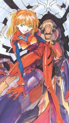 惣流・アスカ・ラングレー(Sohryu Asuka Langley) in 「新世紀エヴァンゲリオン(Neon Genesis Evangelion)」(1995-1996) #Evangelion made by GAINAX