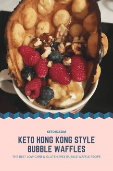 Keto Hong Kong Style Bubble Waffles, Gluten and Grain Free Keto Waffle, Waffle Recipes, Fat Bombs, Waffles, Keto Pancakes, Protein Meats, Bubble Waffle, Healthy Eating Recipes, Diet Recipes