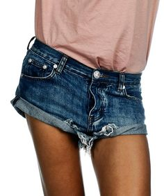 One Teaspoon Shorts Size 23 Cobain Bandits One Teaspoon