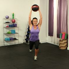 5 Must-Do Medicine Ball Moves: Slam, toss, catch, and roll — these are all ways to rev up your workout by simply adding a medicine ball to classic gym exercises.