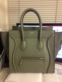 celine luggage croco - Glamour Queen | Bags | Pinterest