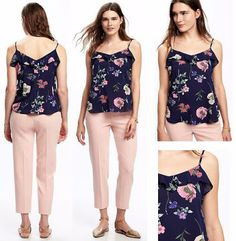 Fashionlicious - online shop indonesia branded: Old Navy Ruffront Top