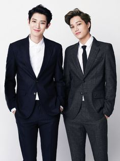 Chanyeol & Kai..Two guys of care ... care because you will lose your heart, breathing and reason ...