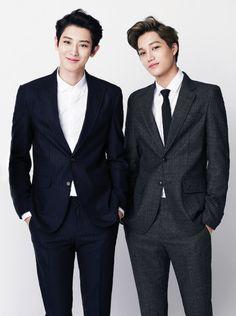 Exo park chanyeol pcy and kai kim jongin