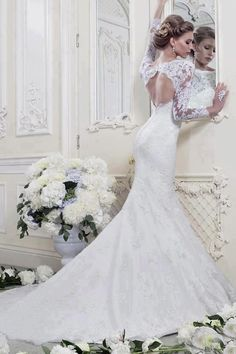 Impresionante!  #boda #vestido #novia