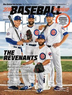The Chicago Cubs on the cover of this weeks cover of Sports Illustrated Cub Sport, Si Cover, Cubs Players, Chicago Cubs World Series, Sports Illustrated Covers, Cubs Win, Go Cubs Go, Chicago Cubs Baseball, Sports Magazine