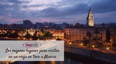 Los mejores lugares para visitar en un viaje en tren a Murcia   Blog Truecalia https://www.truecalia.com/blog/viaje-en-tren-a-murcia/