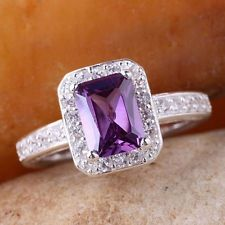 Love purple ring