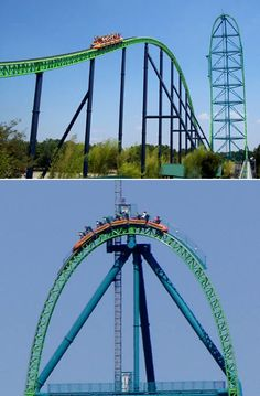Kingda Ka: the world's tallest and fastest roller coaster