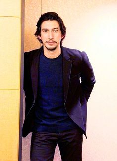 Adam Driver for an interview at the Japan Fan Event for Star Wars: the Force Awakens (x)
