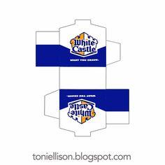 Toni Ellison: White Castle : Miniature Fast Food Tutorial : Polymer Clay