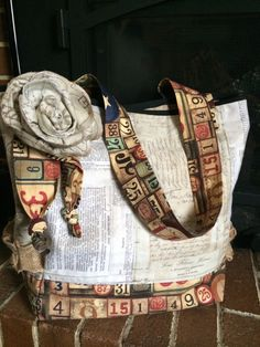 Missusgmoments - Eclectic Elements Tote Bag http://missusgmoments.com/tim-holtz-eclectic-elements-bag/