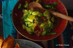 Avocado-Salat Guacamole, Avocado Salat, Chili, Mexican, Tex Mex, Ethnic Recipes, Food, Meat, Cooking