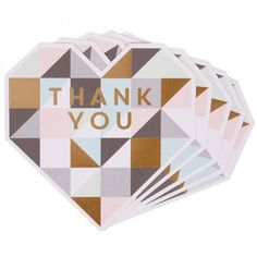 Need Some Inspiration? Shop beautiful engagement cards, wedding stationery, decorations and favours for your hen do and stag do too Thank You Messages, Paperchase, Wedding Thank You Cards, Printed Materials, Wedding Stationery, Wedding Accessories, Special Day, Heart Shapes, Wedding Day